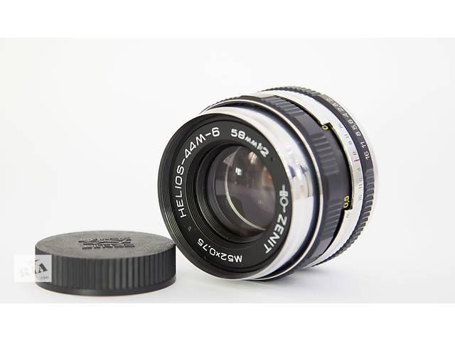 купить бу Продам гелиос-44М-6 Черный с белым в Одессе