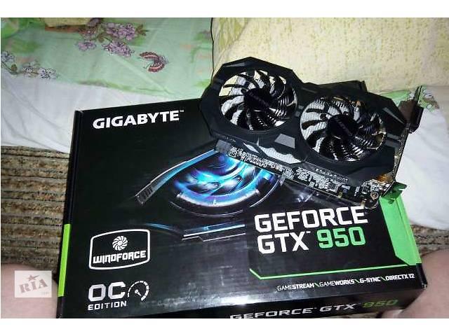 продам Продам Gigabyte PCI-Ex GeForce GTX 950 на гарантии! бу в Желтых Водах