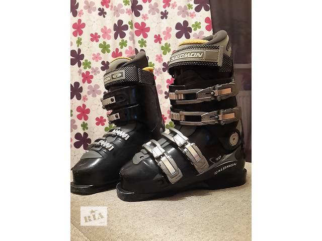 продам Продам горнолыжные женские ботинки salomo performa бу в Харькове