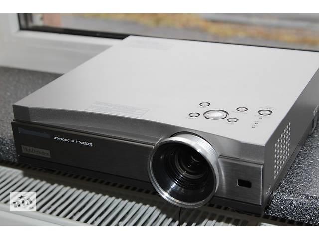 продам продам HD 720p 3LCD проектор Panasonic PT-AE500E 1280х720 разрешение, для домашнего кинотеатра Benq, Epson, Acer, NEC бу в Днепре (Днепропетровск)