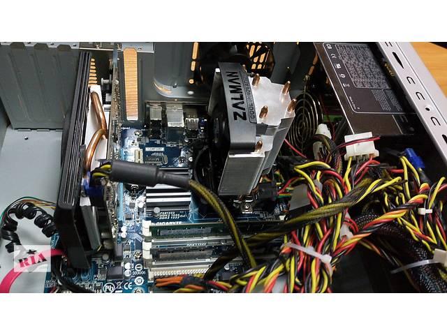 Продам Ігровий Системний блок! Процесор Інтел 2-ядра по 3,00 ГГц.  ОЗУ  DDR3 6 Gb.- объявление о продаже  в Ровно