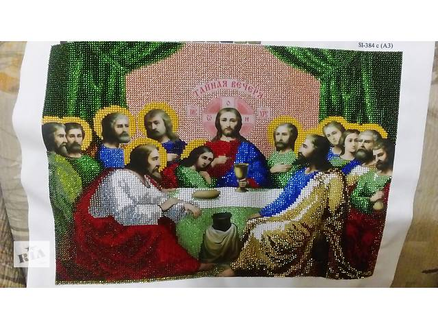 Продам икону вышитую бисером- объявление о продаже  в Виннице