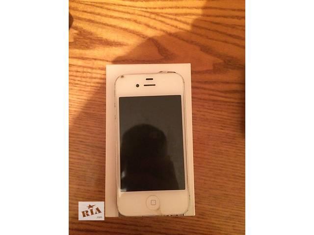 купить бу Продам iPhone 4s 32 gb neverlock  в Виннице