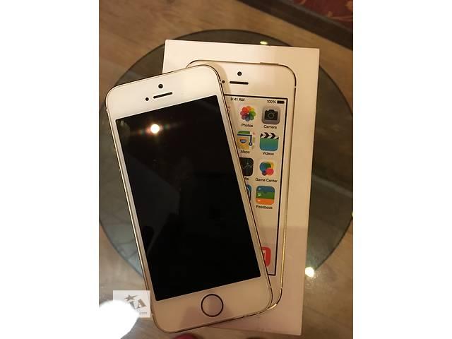 купить бу Продам iPhone 5s gold 16 gb в Одессе