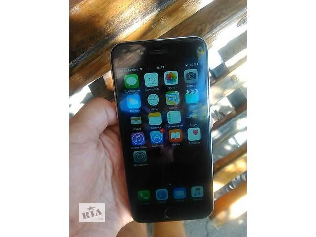 бу Продам IPhone 6 128gb Siti доставка в другой город по предоплате 10% от стоимости товара  в Ровно