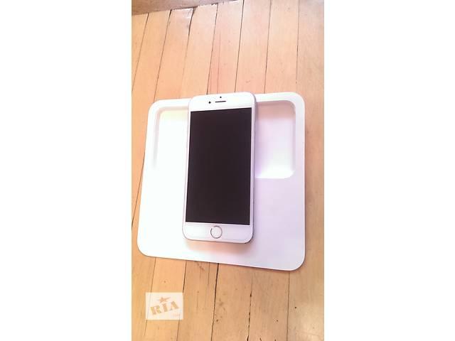 купить бу Продам iPhone 6 Silver 64 gb Недорого в Киеве