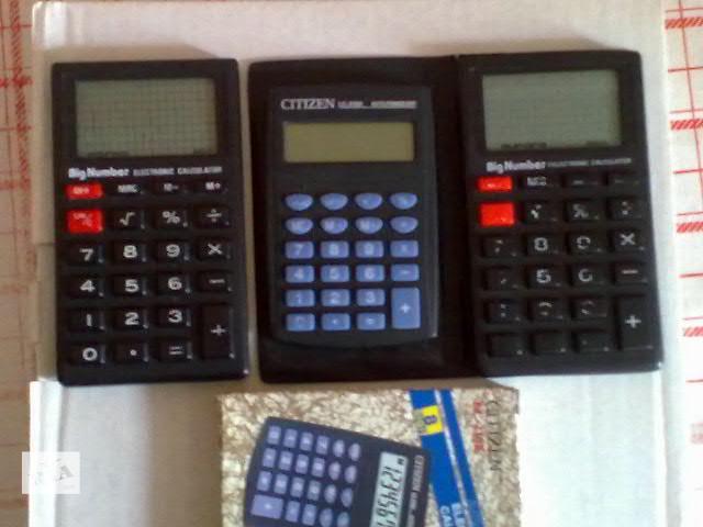 купить бу Продам калькуляторы в Виннице