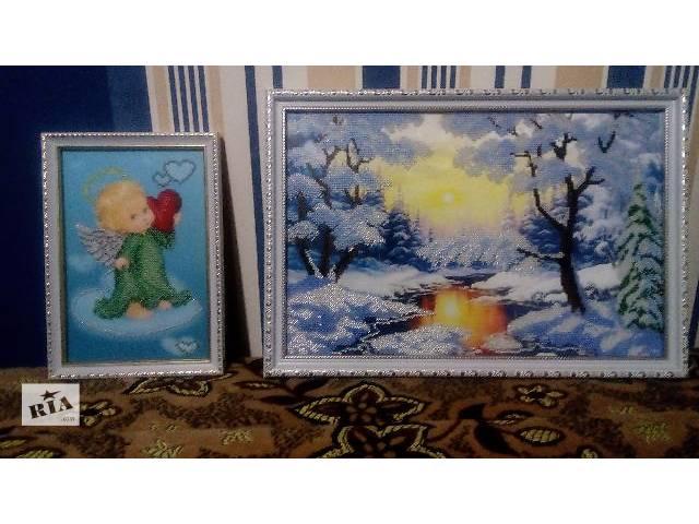купить бу Продам картины с бисера в Фастове
