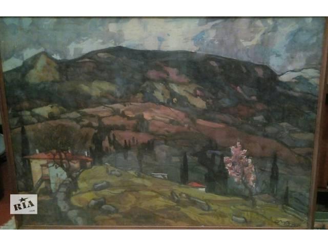 Продам картины Сергея Емельяновича Лунева!- объявление о продаже  в Харькове