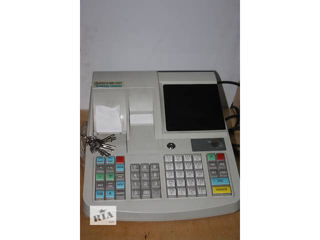 продам Продам кассовые аппараты Datecs MP 550T, 500 б/у 2012 г. в. в рабочем состоянии бу  в Украине