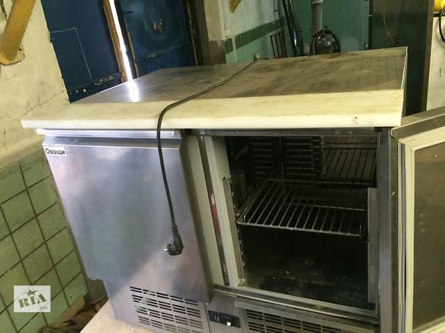 Продам холодильный стол бу Zanussi для ресторана кафе бара. Бу  холодильный стол занусси выполнен из нержавеющей стали - объявление о продаже  в Киеве