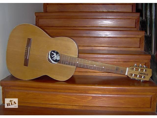бу Продам классическую гитару ОРФЕЙ для учеников в Киеве