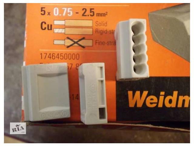 бу Продам Клемма Weidmuller D1.5/2.5-5, 5- полюсов, сечение провода 0,75-2,5  в Украине
