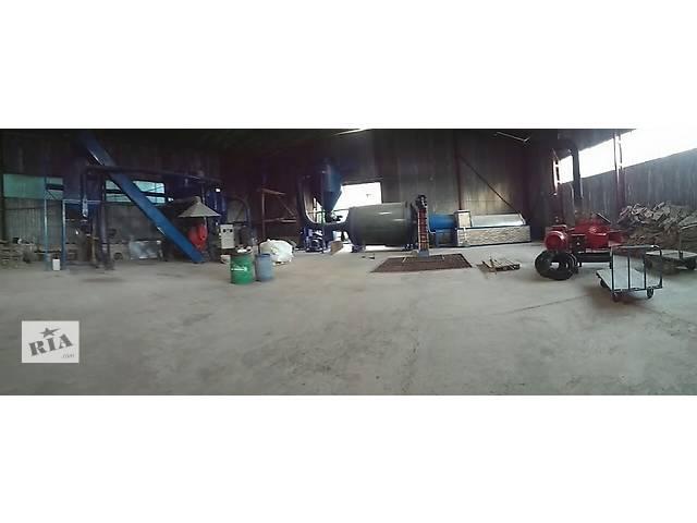 Продам комплекс по производству топливной пеллеты и орг. удобрений- объявление о продаже   в Украине