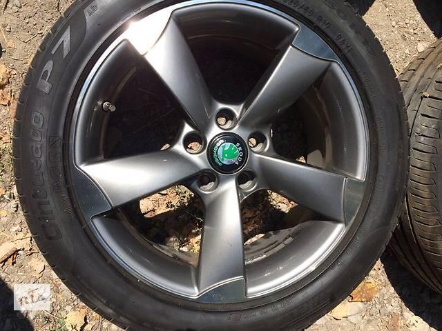 продам Продам комплект  дисков  R17 с резиной 225/50/17 бу в Запорожье