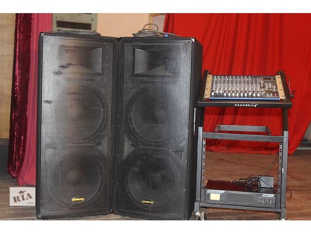 Продам комплект музыкальной аппаратуры- объявление о продаже  в Черновцах