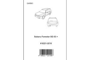 Новые Обвесы бампера Subaru Forester