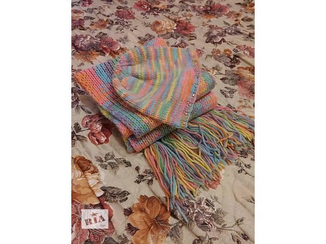 бу Продам комплект, шапка+шарф(б/у) в Виннице
