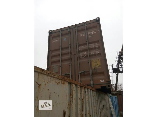 продам Продам  контейнер 40 т бу в Одессе