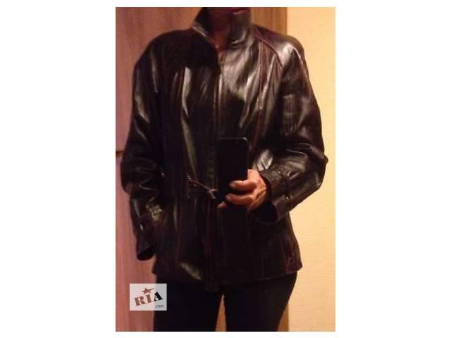 бу Продам кожаную куртку в отличном состоянии в Киеве