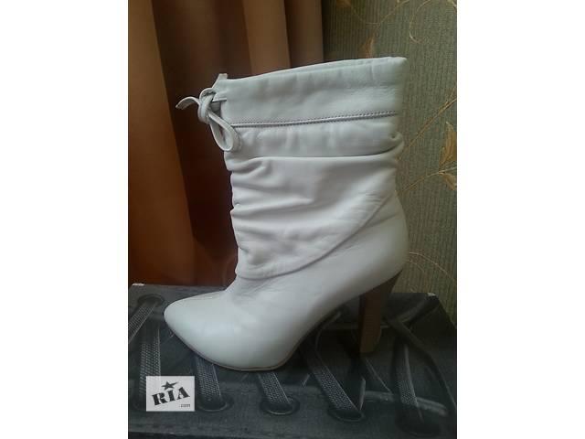 Продам кожаные ботиночки- объявление о продаже  в Полтаве