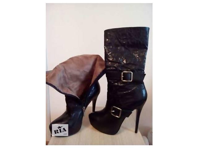 купить бу Продам Кожаные осенние женские ботинки от Miraton в Киеве