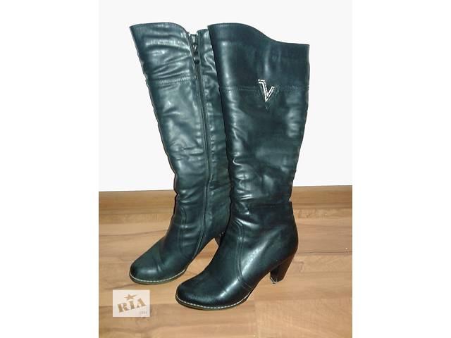 продам кожаные зимние женские ботинки- объявление о продаже  в Бердичеве