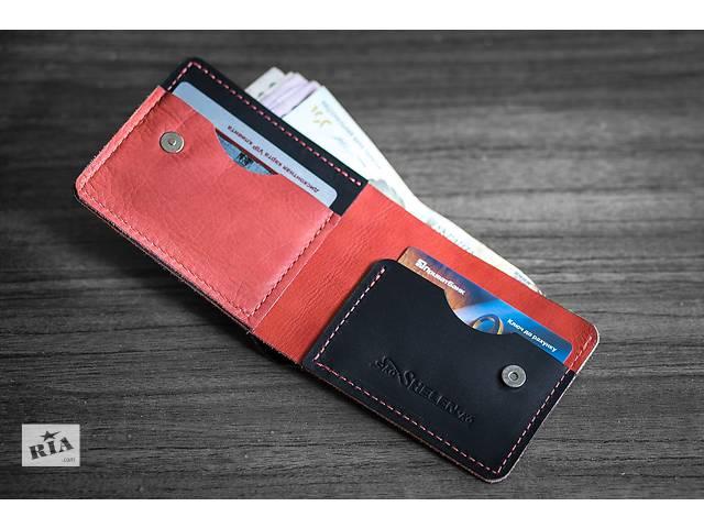 Продам кожаный кошелек mod. Red-fox- объявление о продаже  в Харькове