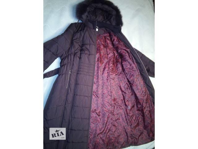 Продам красивое женское тёплое пальто - БОЛЬШОЙ РАЗМЕР!- объявление о продаже  в Киеве