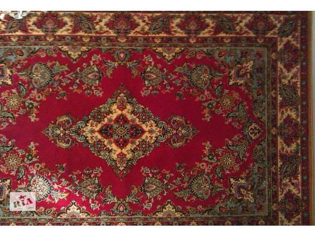 Продам красивый шерстяной ковер бордового цвета с цветочным орнаментом. Размеры: 2х3 м.- объявление о продаже  в Харькове