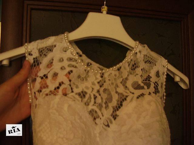 бу Продам кружевное свадебное платье в Киеве