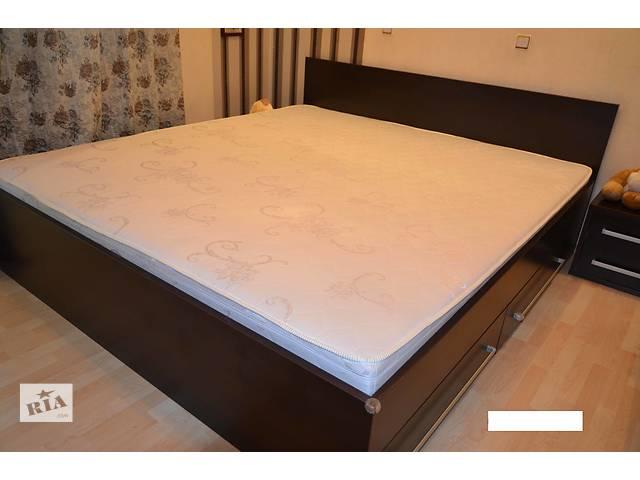 бу Продам кровать в комплекте с матрасом в Киеве