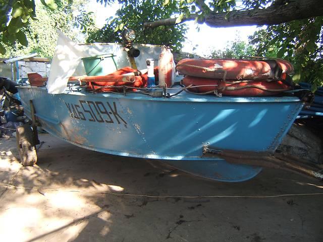 купить бу Продам лодку (катер) в Каменском (Днепродзержинске)