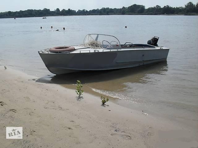 купить бу Продам лодку Прогресс с мотором Вихрь25 и местом в затоне Приднепровск в Днепре (Днепропетровск)