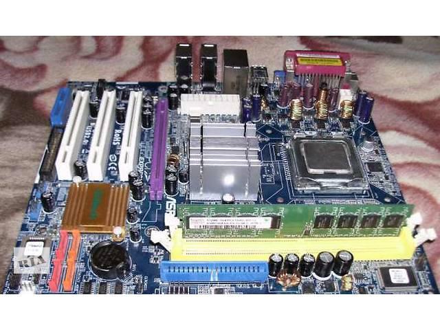 купить бу Продам материнскую плату ASROCK 775I945GZ с процессором и оперативкой в Липовце (Винницкой обл.)