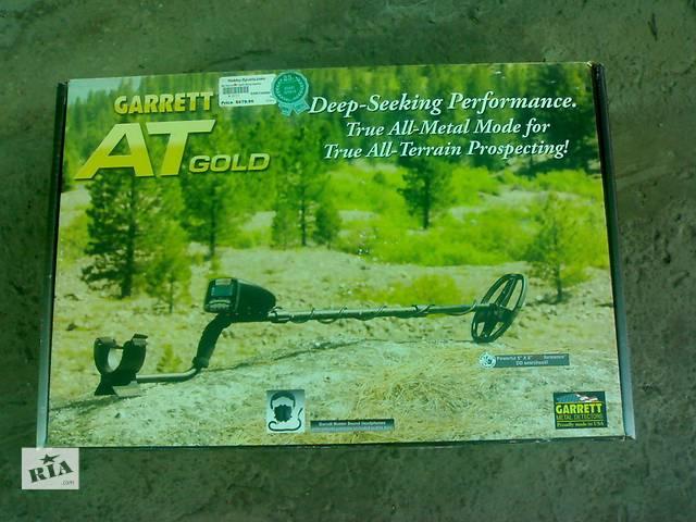 Продам металлоискатель GARRET AT. GOLD. Возможен обмен на пять колес Зил-131.- объявление о продаже  в Чернигове