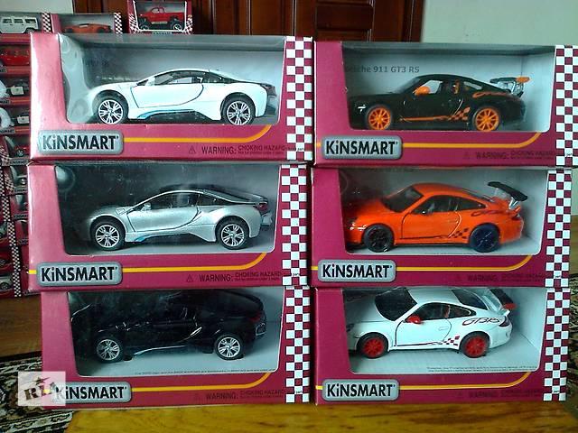 бу Продам модельки Kinsmart метал Очень Много Коллекционые в Тернополе
