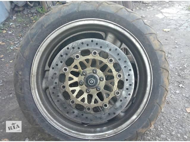 Продам МОТО резину с дисками Honda R17 и R16.Bridgestone  - объявление о продаже  в Луганске