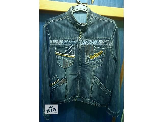 продам Продам мужскую джинсовую куртку р.52 бу в Харькове