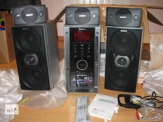 бу Продам музыкальный центр Sony DHC-AZ55D в Енакиево