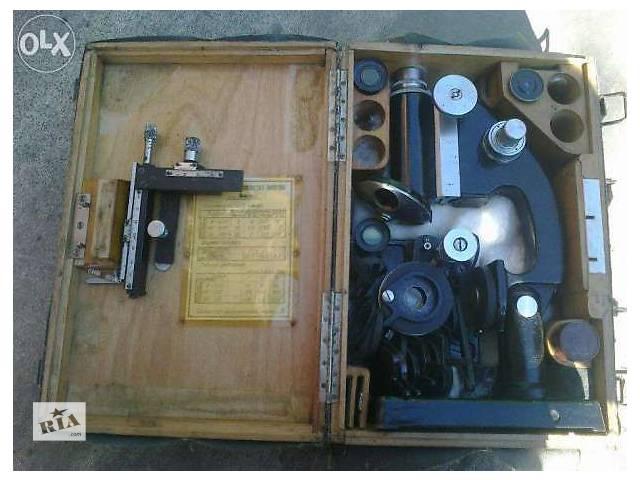 Продам Микроскоп МИБ-3 1939г.- объявление о продаже  в Полтаве
