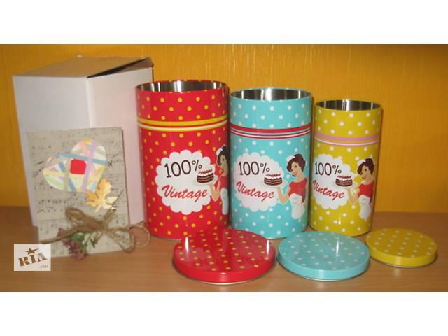Продам набор баночек-матрешек для хранения чая-кофе-конфет- объявление о продаже  в Харькове