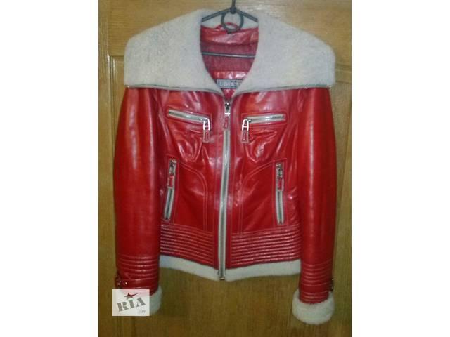 продам Продам натуральную кожаную куртку утеплённую бу в Харькове