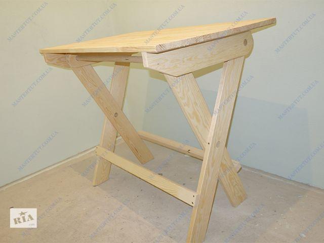 продам Продам недорогой деревянный раскладной стол бу в Киеве