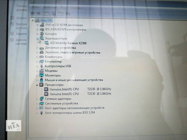 бу Продам Ноутбук ASUS F3K Экран 15,4 Процессор Интел 2-ядра по 1,86 ГГц. ОЗУ 2 Гб. винт 120 Гб. в Ровно