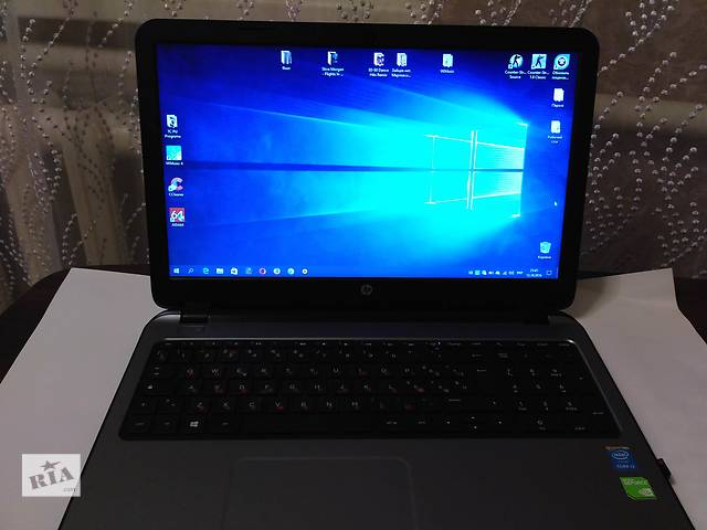 продам Продам ноутбук HP 15-r016nl i3-4005U; 4Gb; GF820 2Gb; 500Gb бу в Калиновке