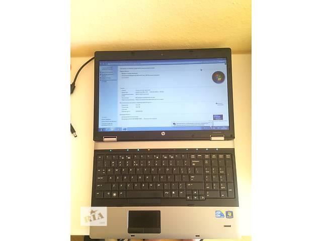 бу Продам ноутбук HP ProBook 6550b из Германии в Киеве