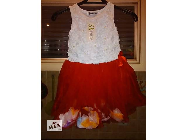 Красивое платье для девочки - объявление о продаже  в Киеве