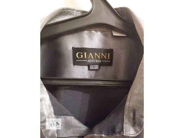 Продам новую мужская рубашка GIANNI (made in Austria) 42 р. - цвет серебро- объявление о продаже  в Яготине