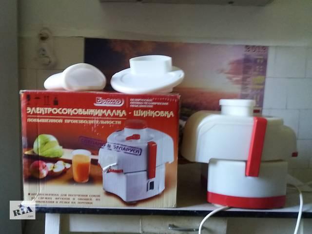 Продам новую соковыжималку-шинковку повышенной производительности- объявление о продаже  в Донецке